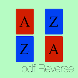 pdf Reverse icon